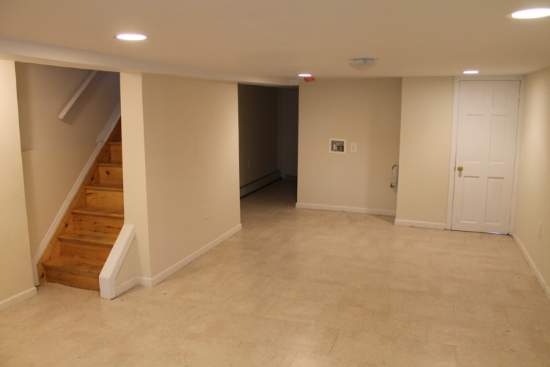 Finish basement