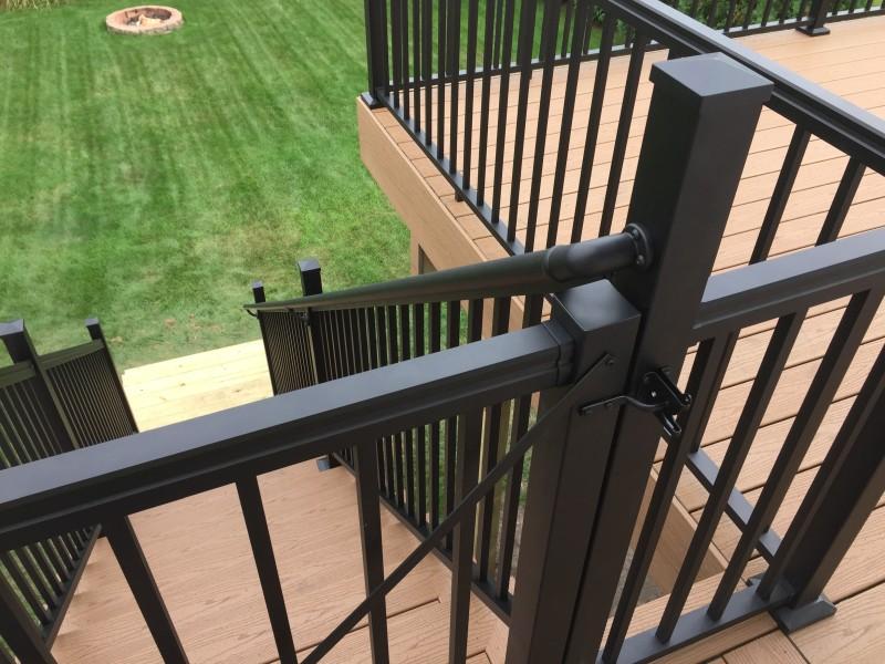 Aluminum composite or wood railing